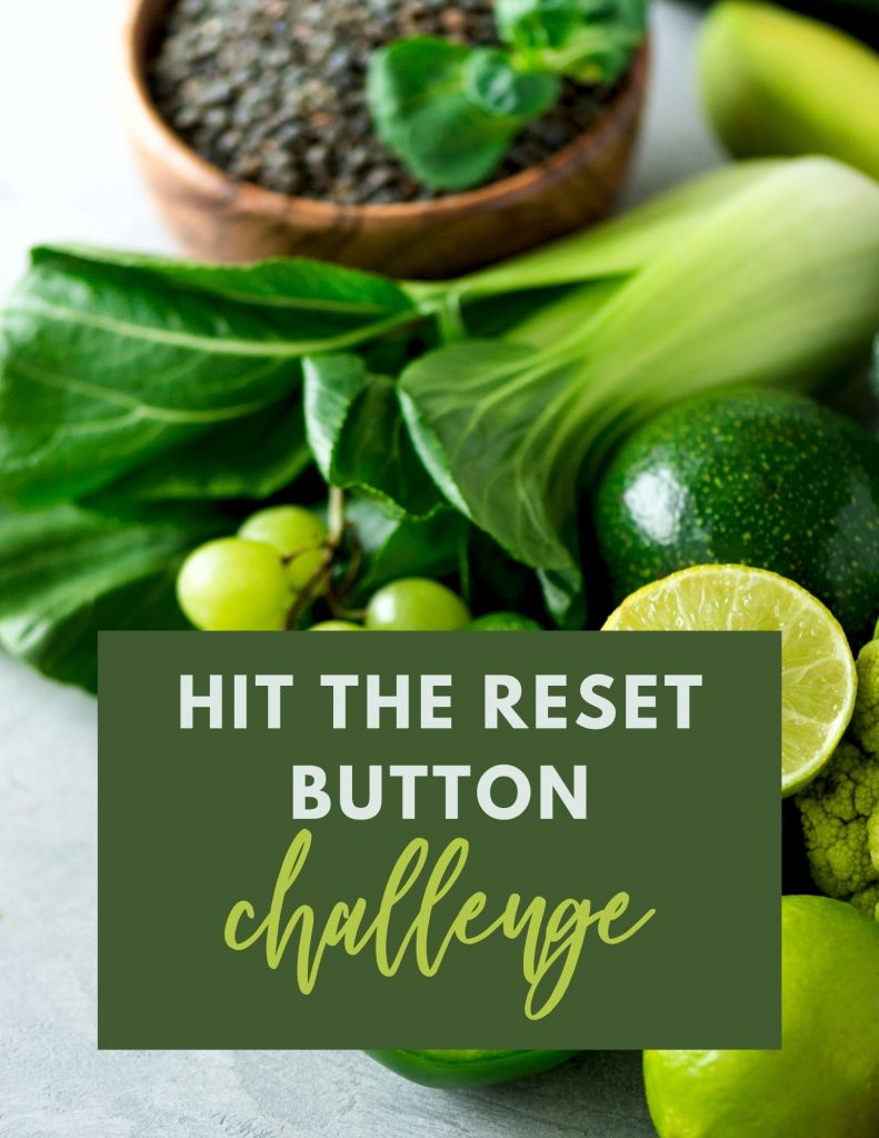 Hit the Reset Button Challenge