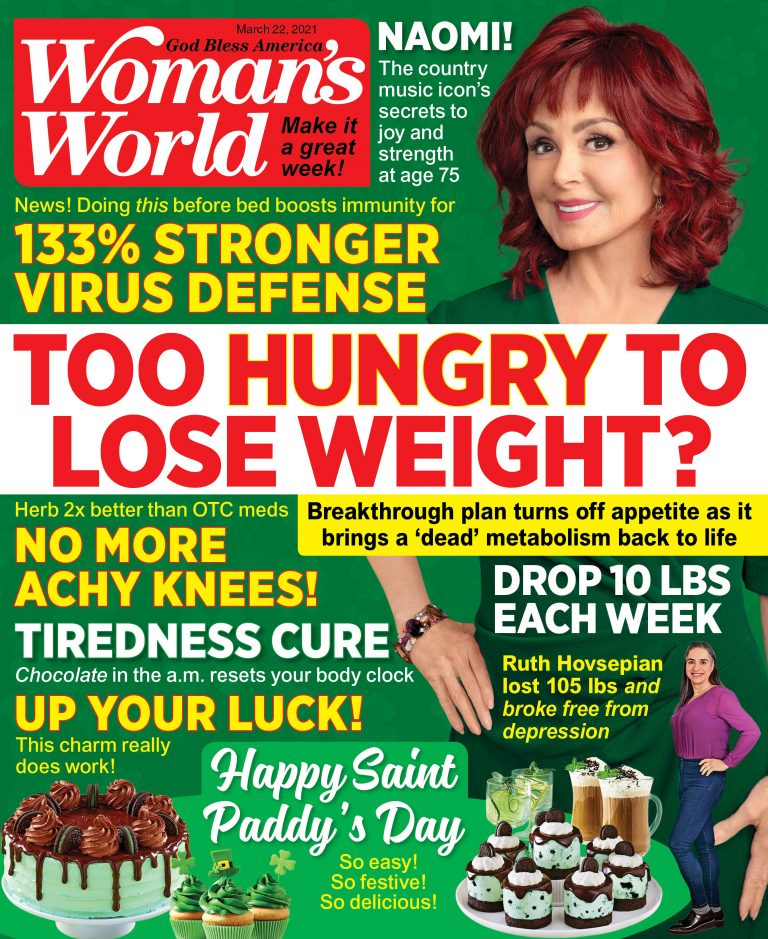 Woman's World March 2021 Cover